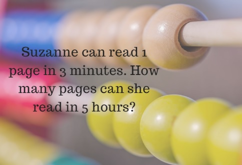 Suzanne can read 1 page in 3 minutes. How many pages can she read in 5 hours?