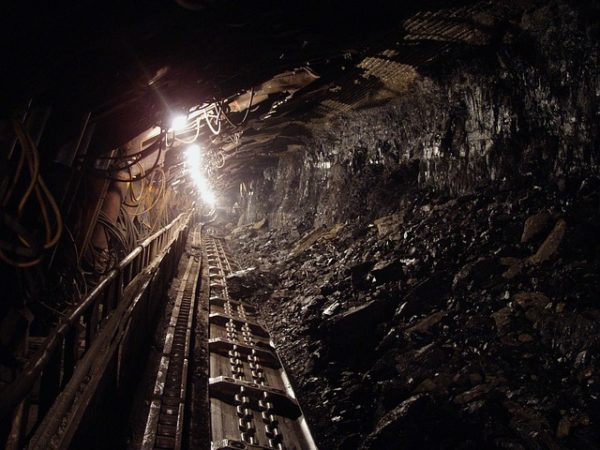 What two countries have nearly 50% of global coal reserves?