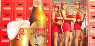 Example of an alcohol advertisement